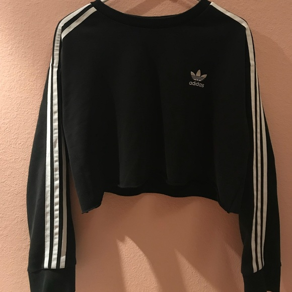 Adidas Tops Cropped Jumpsuit Poshmark